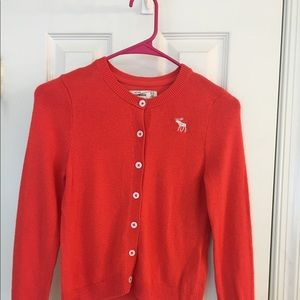 Abercrombie Girl Button Down Sweater